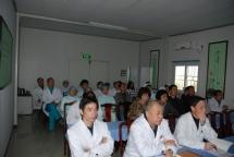 在深圳五洲医院三次讲座图片 共10张